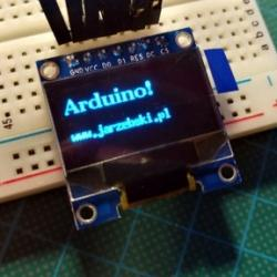 4x LCD OLED 0.96'' Blue SPI I2C SSD1306 ARDUINO RP