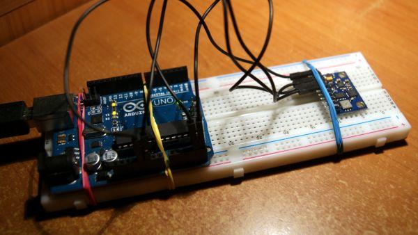 Pololu MinIMU-9 Gyro, Accelerometer, and Compass
